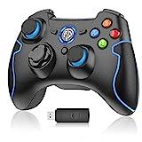 Mando para PC, [Regalos] EasySMX Mando Inalámbrico PS3 Gamepad Wireless...