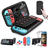 HEYSTOP Nintendo Switch Accesorio, Nintendo Switch Funda + Funda de...