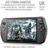 JXD S7800 RK3188 Quad Core Game Pad 3 Console Android 4.2 Tablet 16GB ROM...