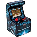 ITAL Mini Recreativa Arcade (Azul) / Mini Consola Portátil De Diseño...