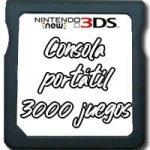 consola portatil 3000 juegos